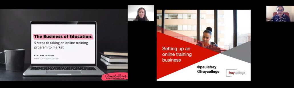 Those who can, should teach: online training for media organizations