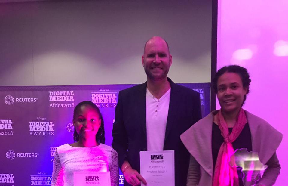 SAMIP participants win big at the WAN-IFRA Digital Media Africa Awards