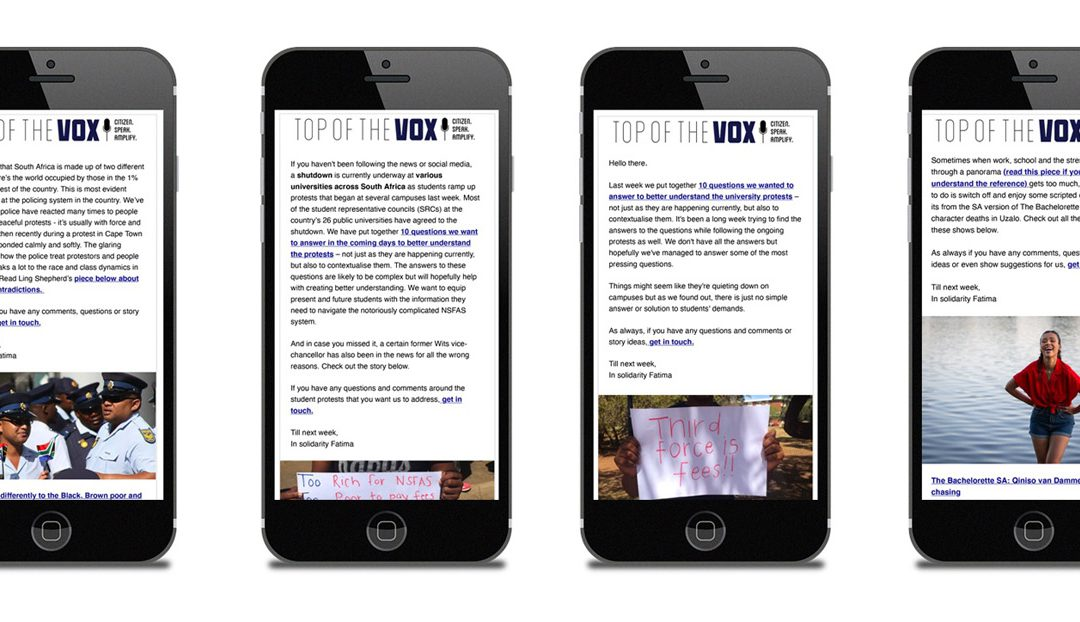 How The Daily Vox tripled its email audience