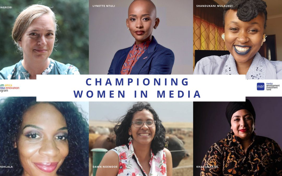 How women have led media innovation and resilience in Covid-19