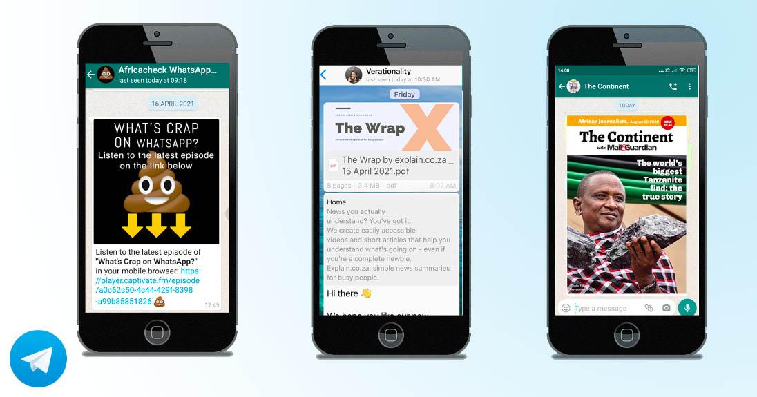 Publishing for Telegram for African newsrooms
