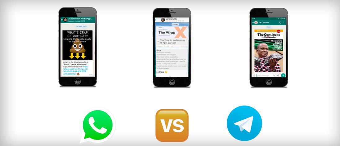 SAMIP insights on Telegram v WhatsApp for publishers